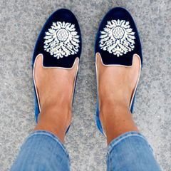 The slipper shoe - For louche yet luxe style, slip into a pair of smoking slippers.