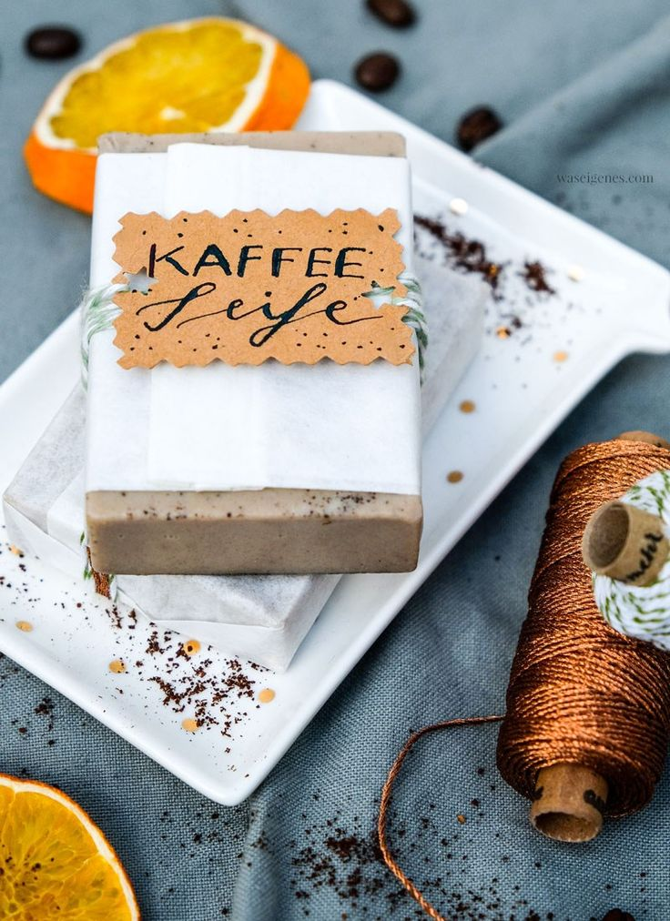 Zum Dahinschmelzen: DIY Kaffee Seife selber machen ...