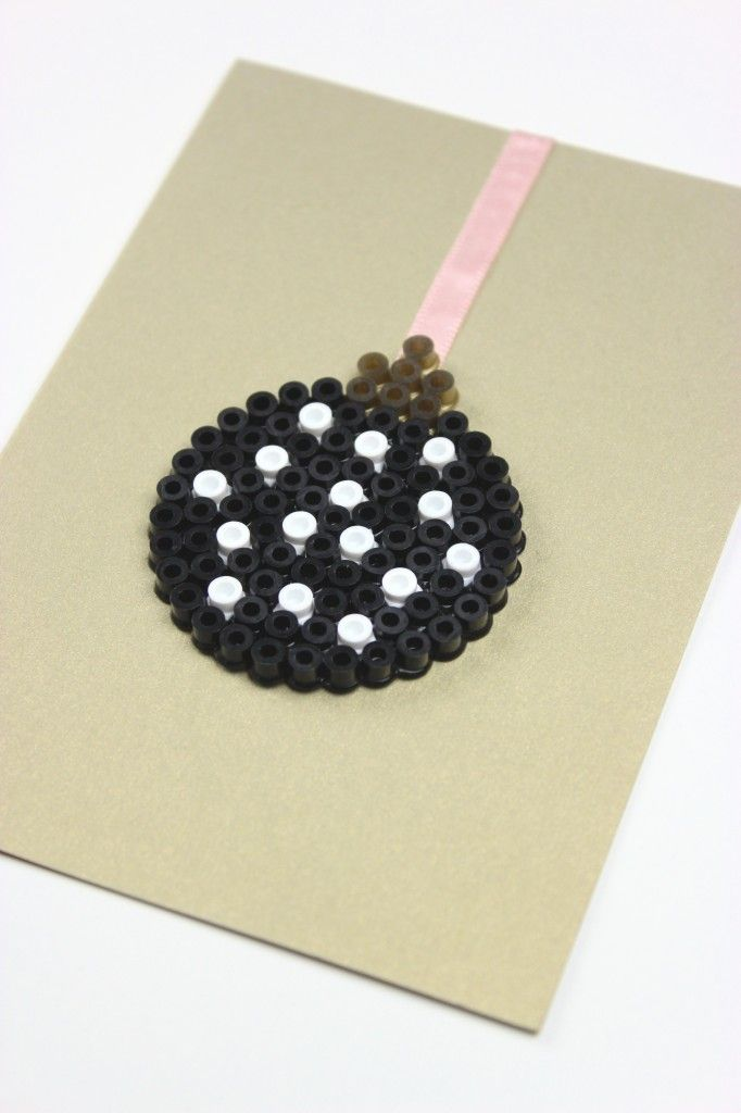 A #DIY idea that works for any small circles: beads, rhinestones, paper, etc. Oh the possibilities!