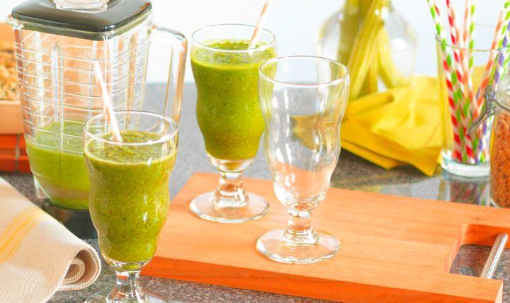 Tropical Strength Smoothie Recipe   #EatSmart