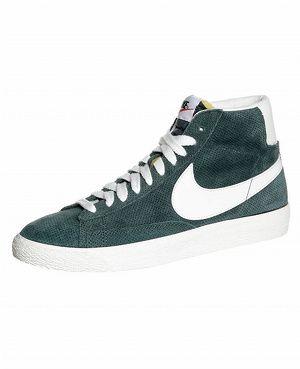 Baskets montantes vertes Nike Blazer