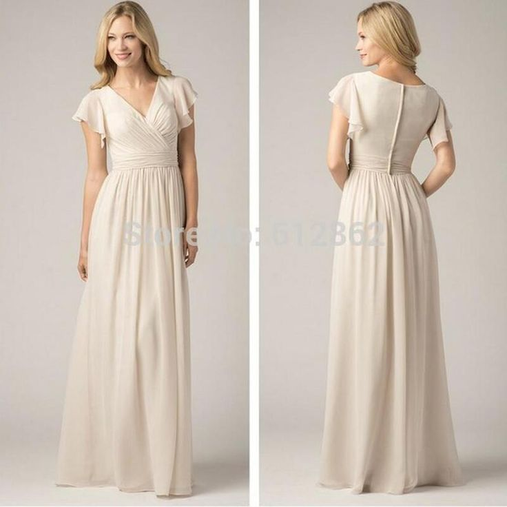 The 25 best modest bridesmaid dresses ideas on pinterest for Affordable non traditional wedding dresses