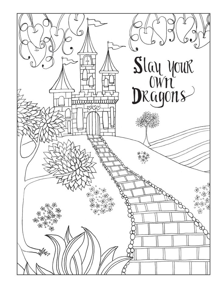 26 best inkspirations for women images on pinterest coloring books from our inkspirations for women coloring book do it yourself wait for no one solutioingenieria Images