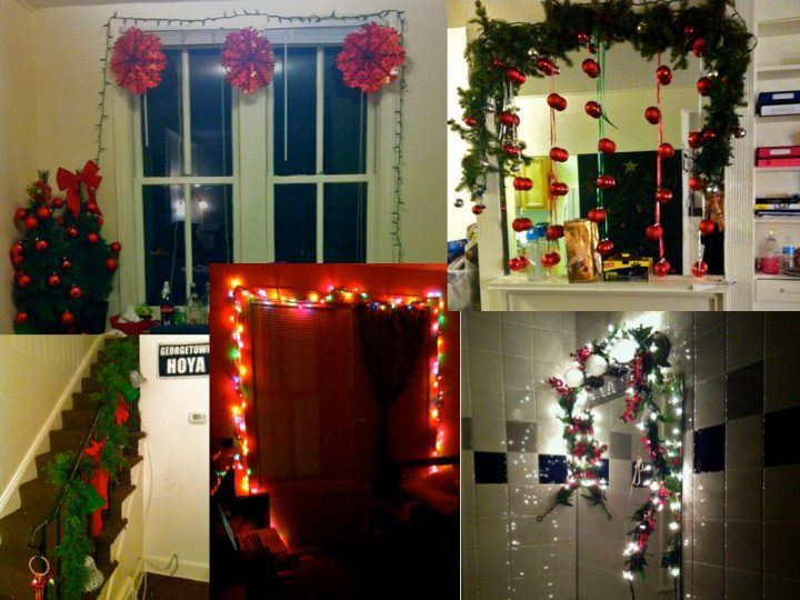 Lights Make Everything Festive In The Cold Months, Even Your College Room!  Picture From · College RoomGeorgetown UniversityThe ... Part 78