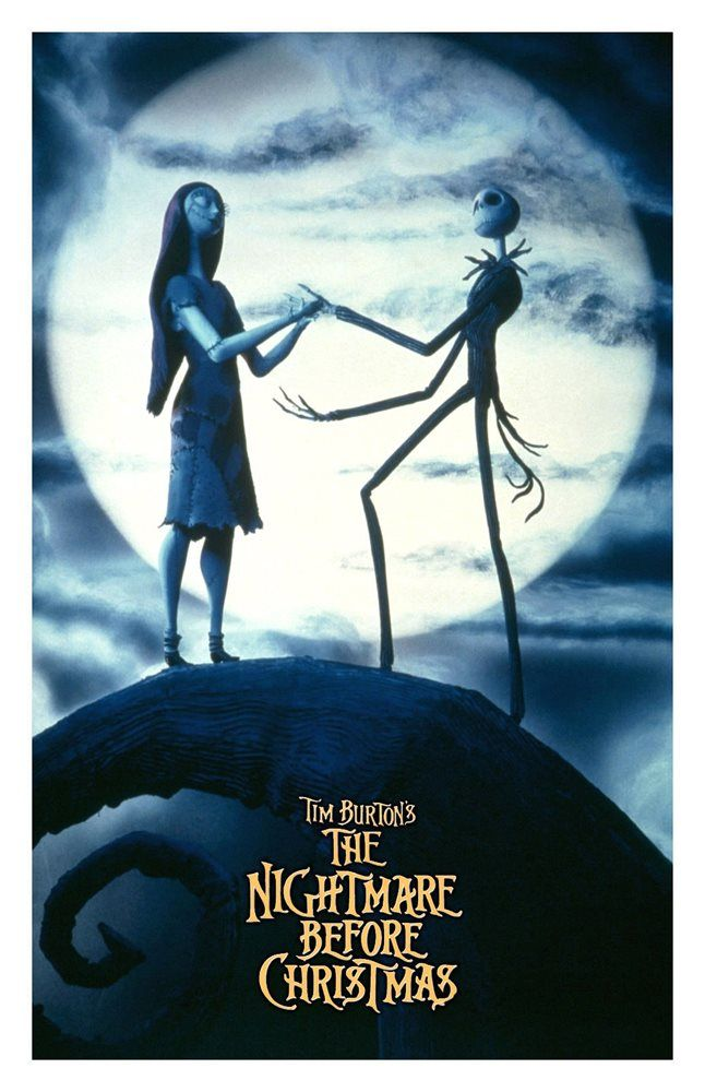 The Nightmare Before Christmas Movie Poster 11x17 In 28x43 Cm Tim Burton Nightmare Before Christmas Movie Tim Burton Films Disney Movie Posters