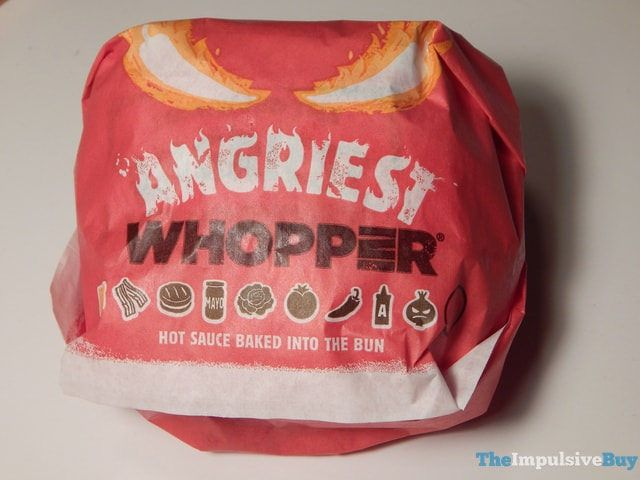 REVIEW: Burger King Angriest Whopper