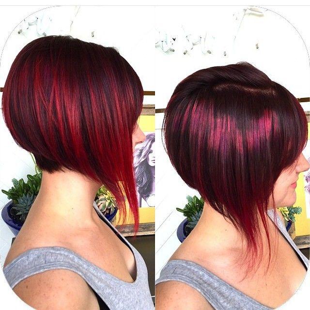 Rot ist einer meiner Lieblingsfarben. Auch Deine? 11 Rote Pixie-Frisuren, die man unbedingt gesehen haben muss!