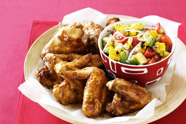 Wondering what's for dinner tonight? Just wing it!