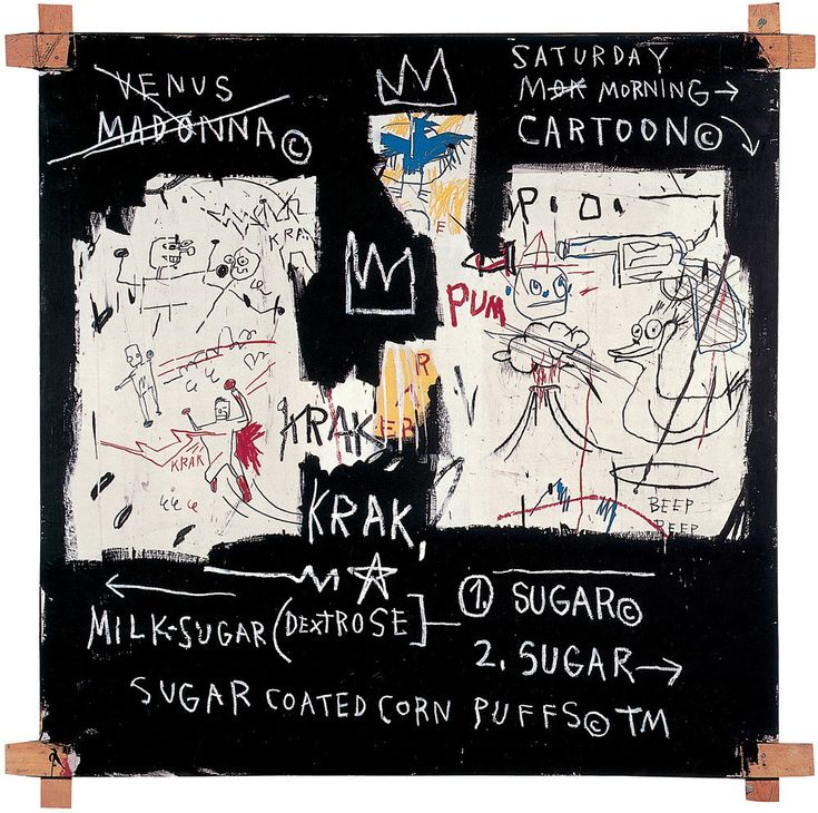 Panel of Experts, 1982 Art Print by Jean-Michel Basquiat | King & McGaw