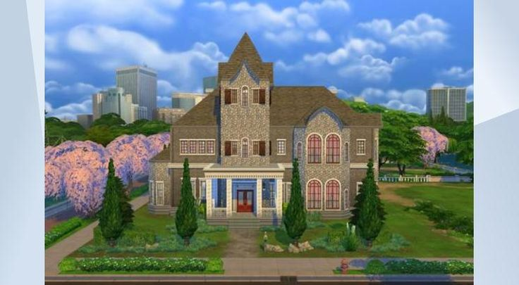 Check out this lot in The Sims 4 Gallery! - Mysterious events unfold inside this truly haunted house. More pictures & info at my site: www.SimsCreations.com #NOCC #haunted #house #hauntedhouse #halloween #ghost #scary #mansion #ghastly #drslimi