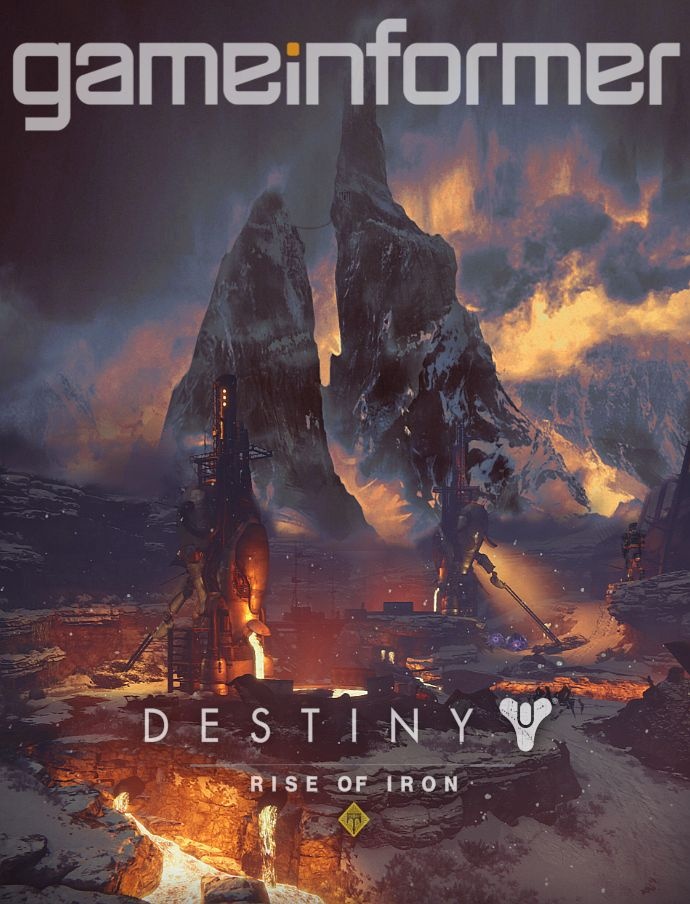Game Informer Cover Art