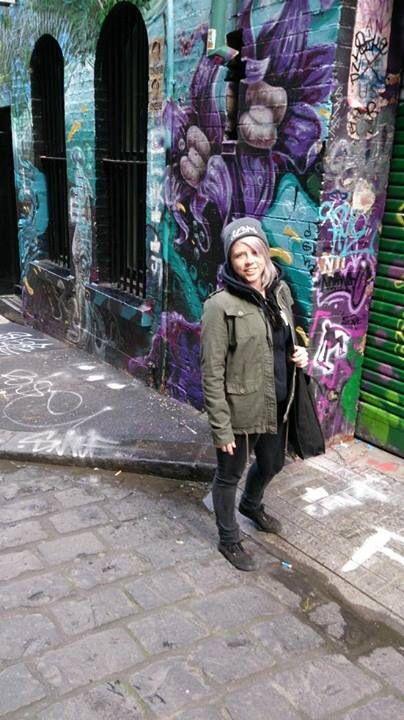 #graffiti #streetart #laneway #melbourne #lesbain