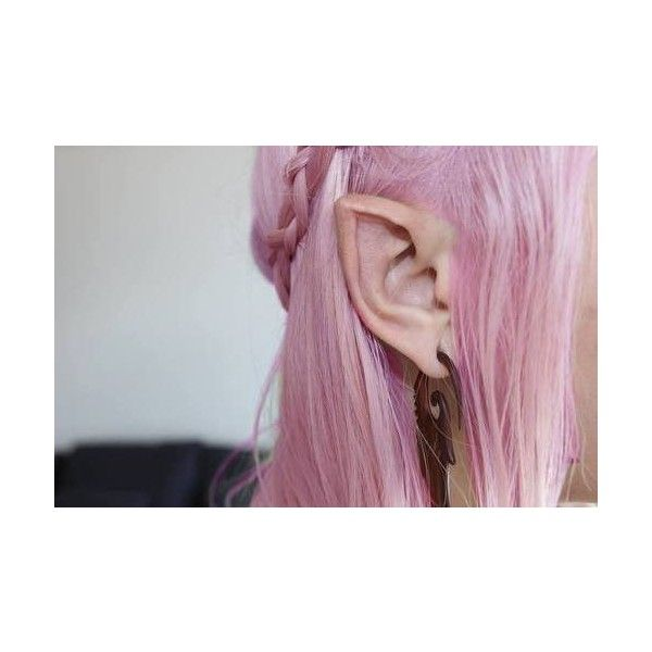 I want to get my ears pointed like this!
