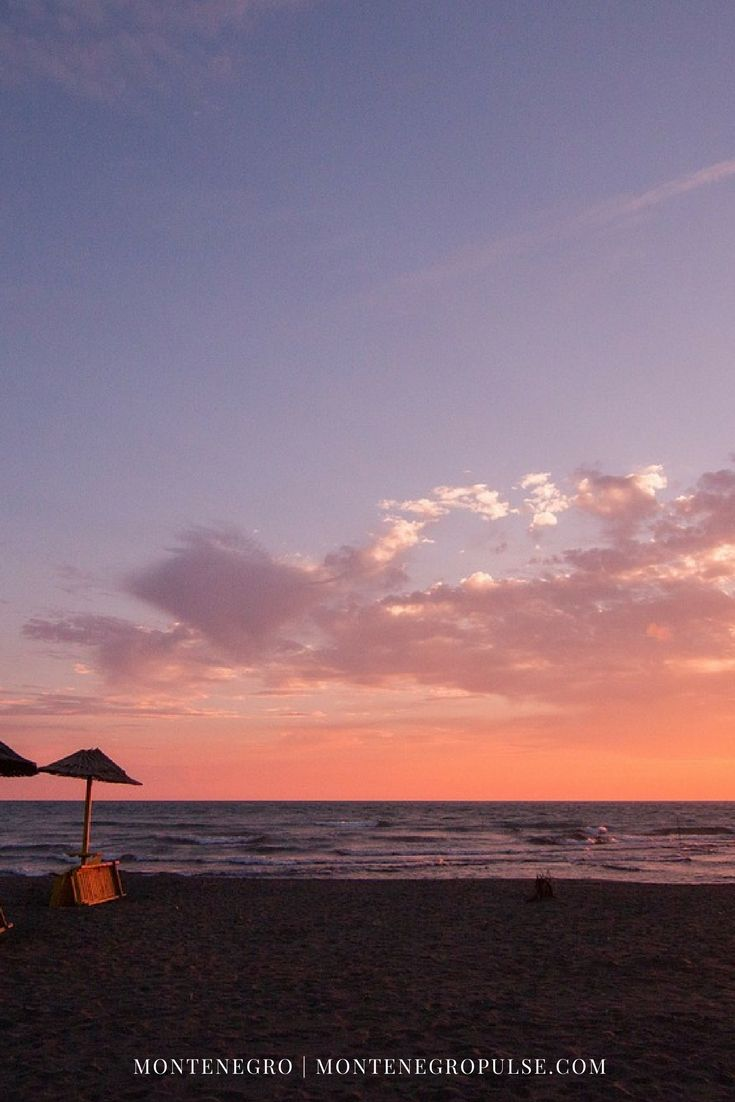 Ulcinj's Velika Plaza in Montenegro is the perfect place for a relaxed beach holiday in Europe.