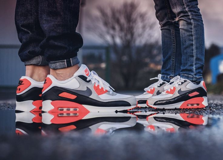 sweetsoles:  Nike Air Max 90 Infrared (by Julien Papoo Poulenard)