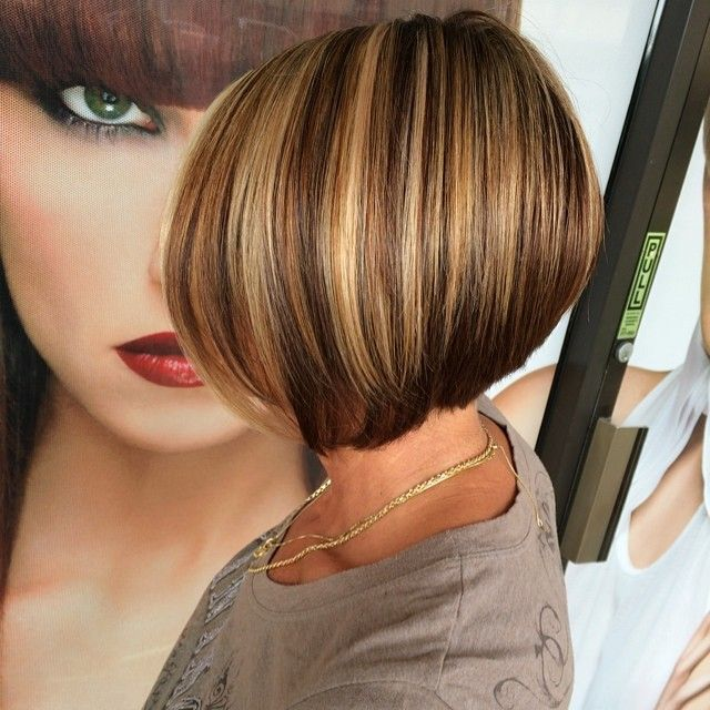 Cut Color Highlights Hairstyles Pinterest