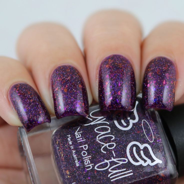 Grace-full Nail Polish Wish I Was There swatched by Olivia Jade Nails