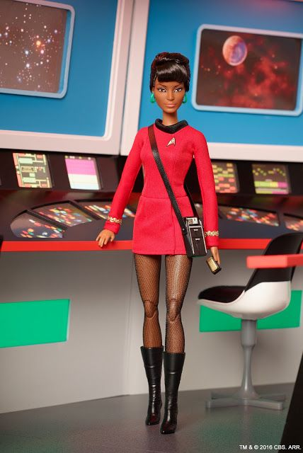 UHURA! The Trek Collective: New Star Trek Barbies - check your Target store.