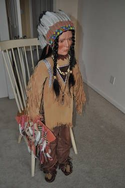 Native American Dolls for Sale | ... 125 date time 13 jun 05 15 a m est type home styling for sale private