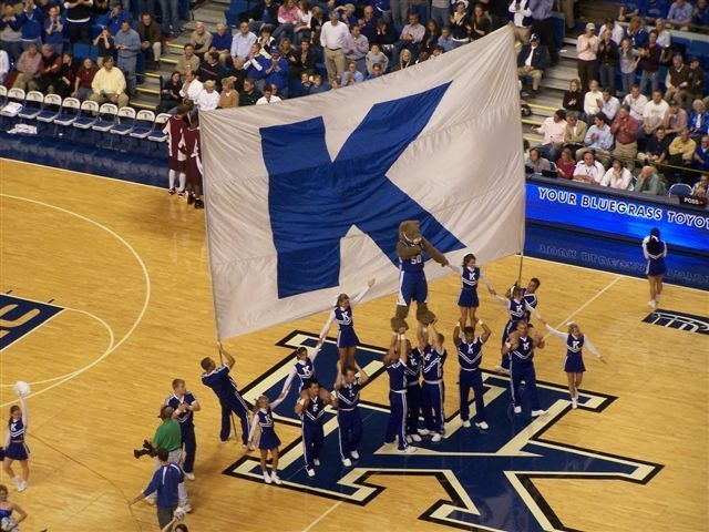 Kentucky Basketball Wildcats Have Found Their Groove: UK Kentucky Basketball Wildcats Cheerleaders Basketball