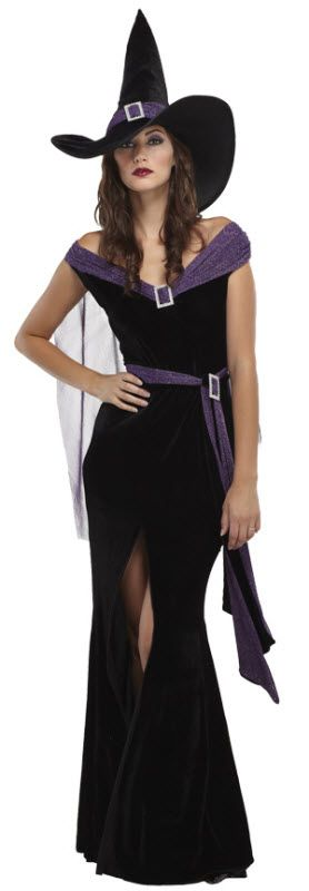 Women's Elegant Witch Costume                                                                                                                                                                                 More
