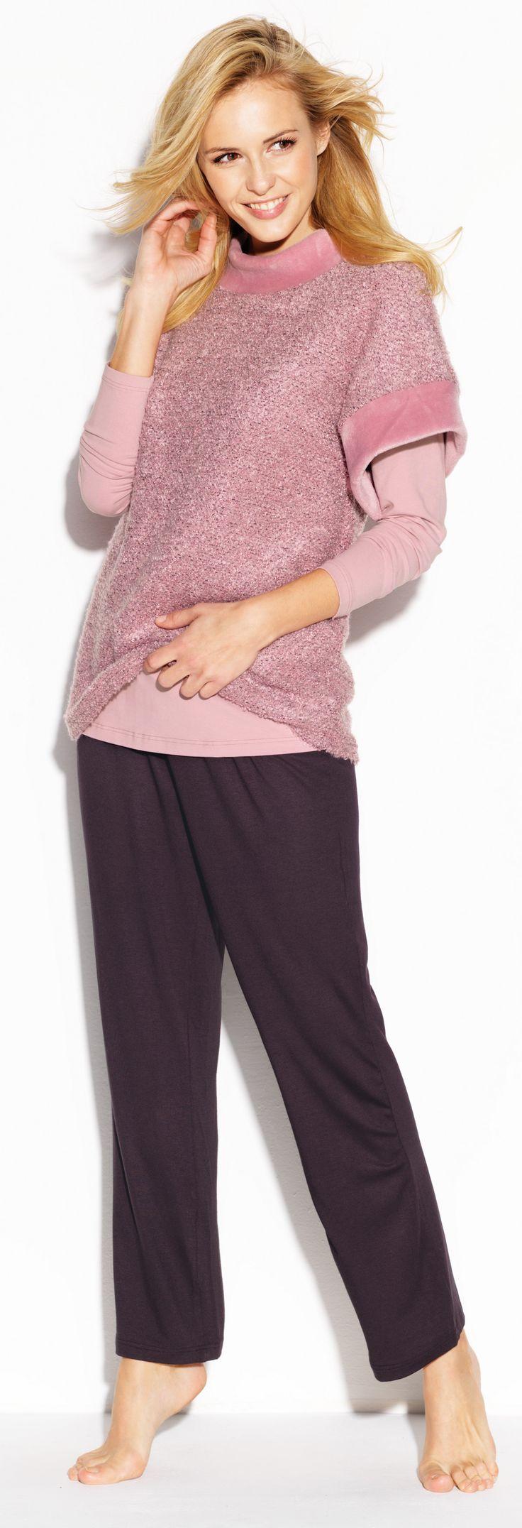 CYBÈLE Podzim-Zima 2015/2016   Volnočasové prádlo   Triko   Kalhoty   Loungewear   T-shirt   Trousers   www.naturana-plavky-pradlo.cz