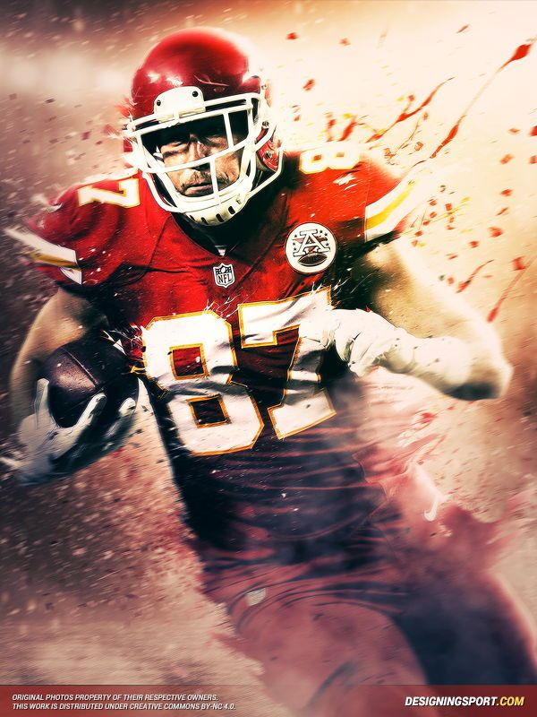 Travis Kelce, Kansas City Chiefs Designing Sport
