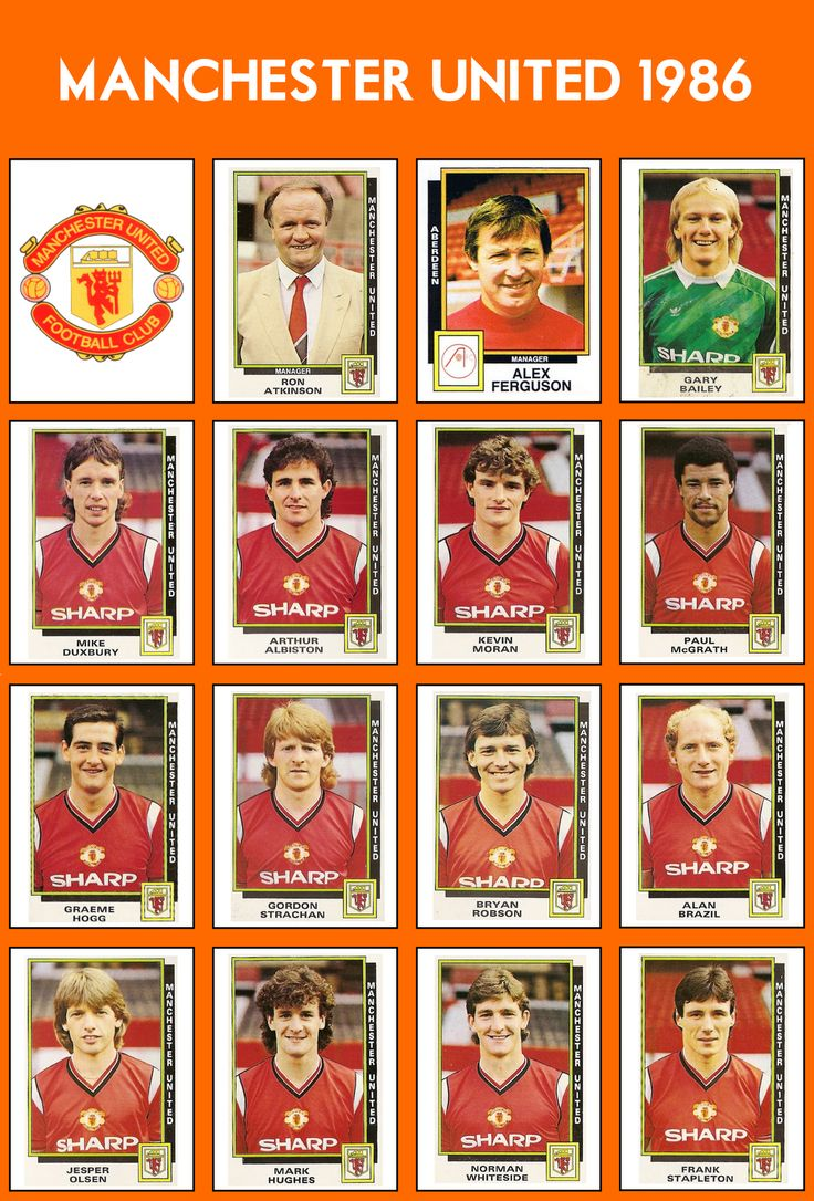 manchester united 1986