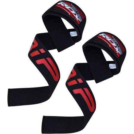 Rdx Pro Gym Weight Lifting Wrist Strap Support, Black