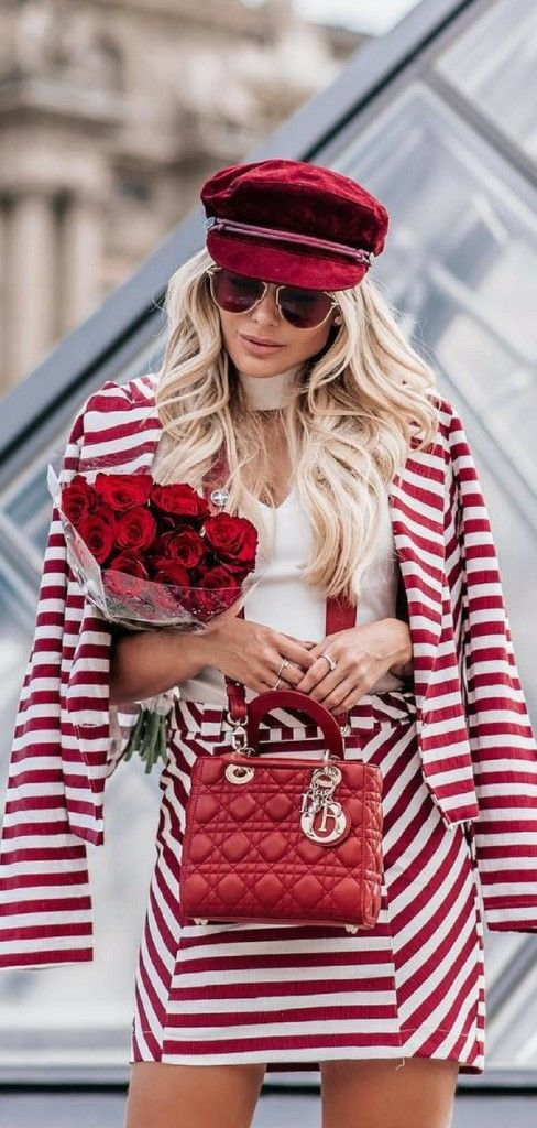 353ec5cd70df 31 Of The Most Amazing Casual Date Night Outfits 2018 | STREET STYLE for  FASHIONISTAS | Red, white outfits, Casual date night outfit, Red colour  palette
