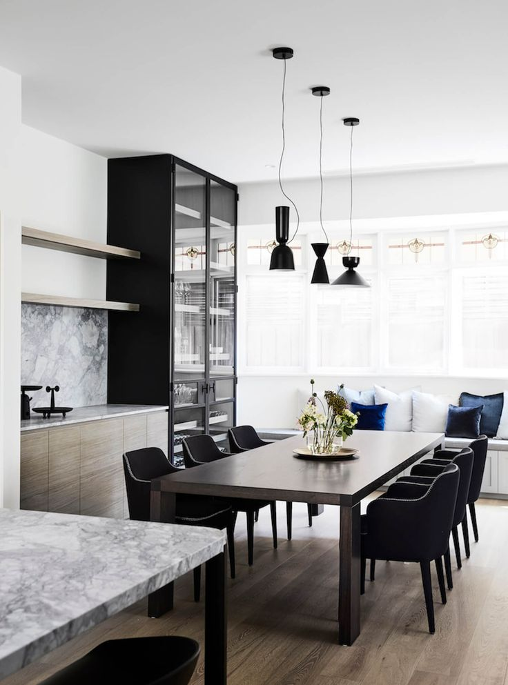 Dining Room | Elsternwick Home by Mim Design | est living