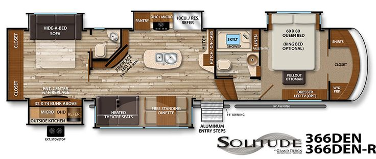 59 Best Interesting Camper Floor Plans Images On Pinterest Caravan Arquitetura And Cabins