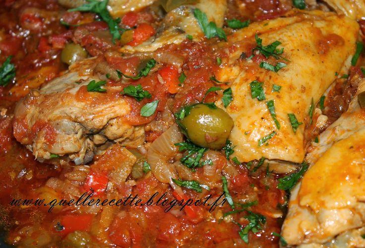 Quelle recette cuisses de poulet aux poivrons - Cuisiner les poivrons ...