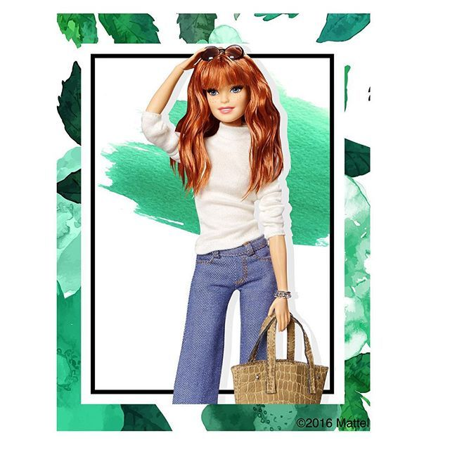 Pin for Later: Kardashian Hairstylist Jen Atkin's Latest Barbie Is a Stunning Redhead