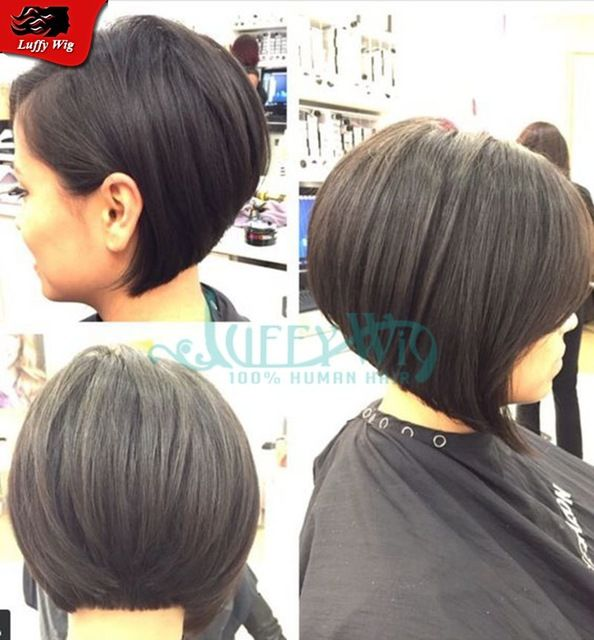 Top grade short bob wigs silk top human hair wigs brazilian virgin hair full lace wigs with baby hair left part for black women