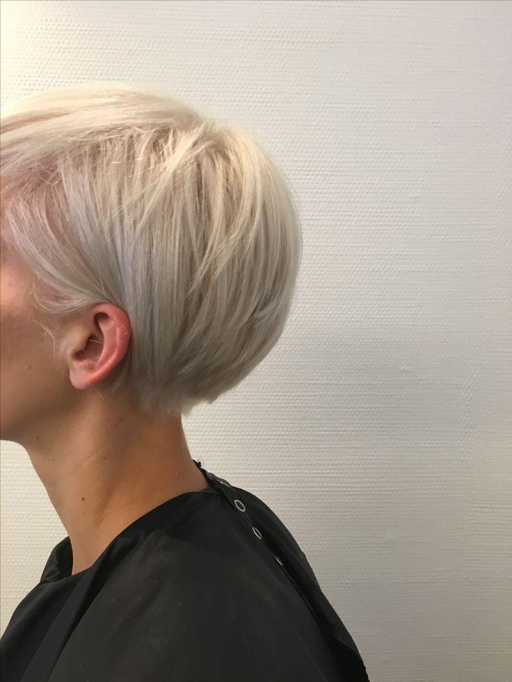 kort blondes haar