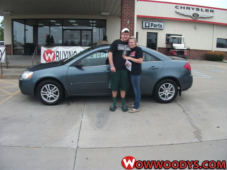 """Robert Rhoades from Gallatin, Missouri purchased this 2006 #Pontiac #G6 and wrote, """"They were really good and easy to work with. made it quick to purchase the car of my choice."""" To view similar vehicles and more, go to www.wowwoodys.com today!"""