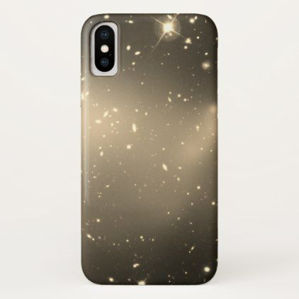 Space Dust faded BW iPhone X Case - white gifts elegant diy gift ideas
