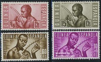 GUINEA ESPAÑOLA: Arpa
