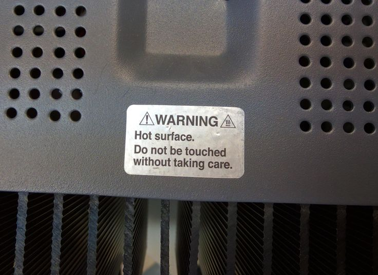 Warning label on a lab instrument http://ift.tt/2fKMIVE