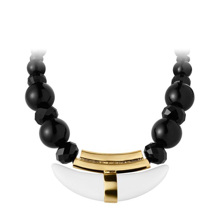 Dyrberg/Kern Sandar White Gold Necklace