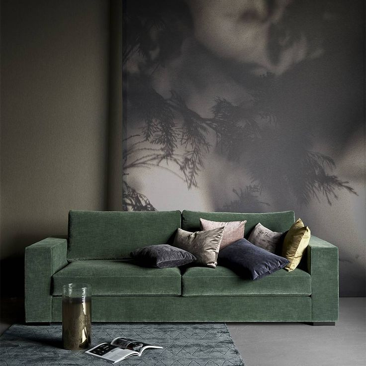 It's getting colder and darker in our neck of the woods – and the soft green velvet Cenova and lush Velvet cushions are looking quite tempting by now.  #BoConcept #sofa #luxuryliving #homedecor #livingroom