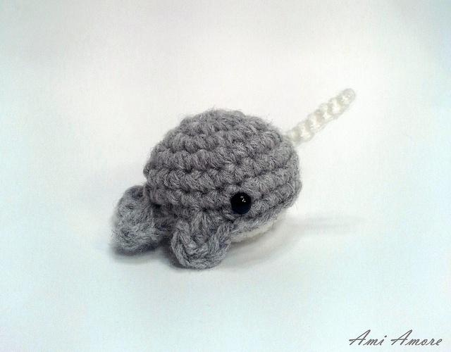 Crochet amigurumi narwhal : Crochet pattern blob narwhal dolphin and orca whale