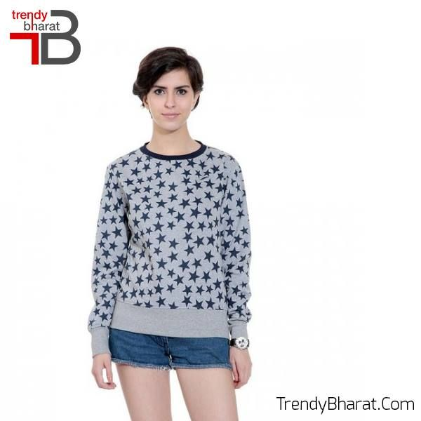 Wear this #GreySweatshirt for a new look!! #WinterCollection  #BeTrendy #Jackets