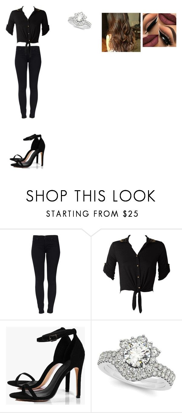 """""""Untitled #145"""" by no-belle on Polyvore featuring Hudson Jeans, Boohoo and Allurez"""