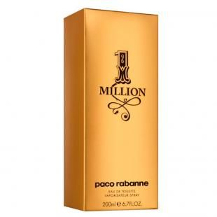 1 Million Paco Rabanne - Perfume Masculino - Eau de Toilette - 200ml - com as melhores condições você encontra no Magazine Guieletron. Confira!