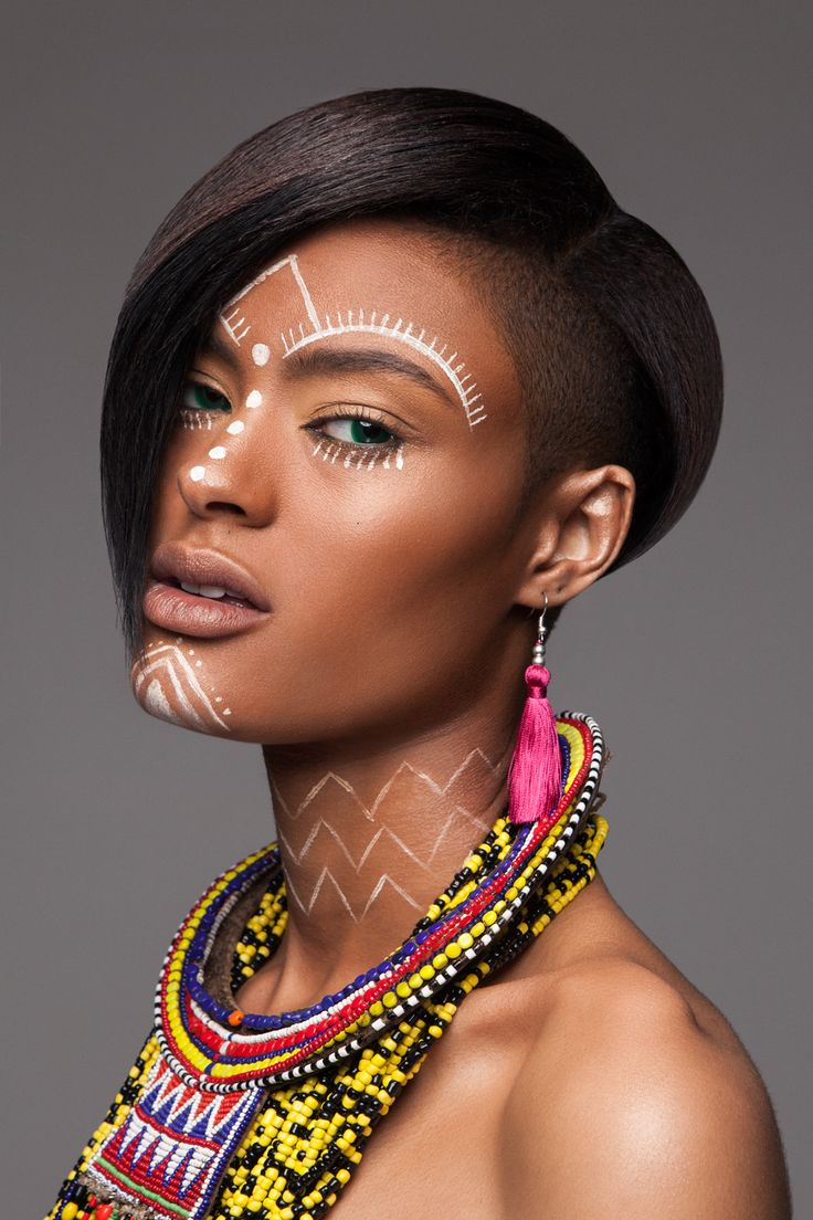 "arsenicinshell: ""British Hair Awards 2016 – Afro Finalist Collection – photo by Luke Nugen """