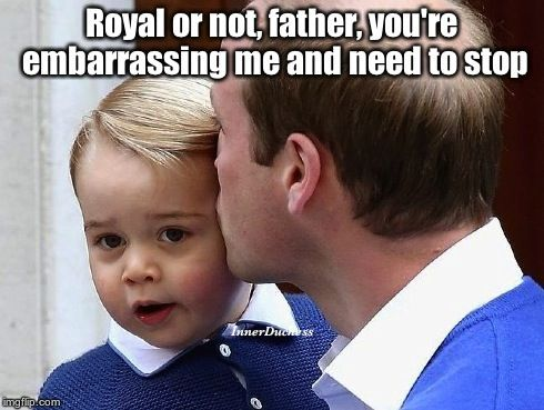The Inner Duchess of Kate Middleton, Embarrassing Baby King