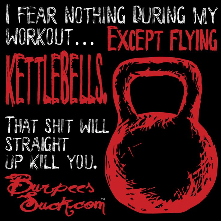 FLYING KETLLEBELL - BurpeesSuck.com Motivation, Support and BadAss Gear!