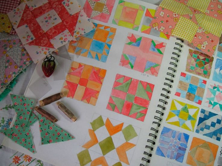 Пэчворк для начинающих: схемы пошагово и идеи для шитья
